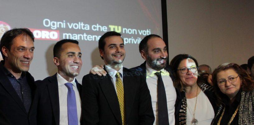 165 milioni per i Vigili del Fuoco, il Conapo festeggia ad Avellino con Di Maio e Sibilia