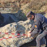 Petruro Irpino: estrazione abusiva di materiale dall'alveo del fiume, denunciati due imprenditori