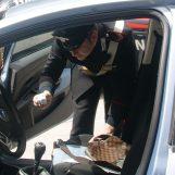 Drogato alla guida e con la marijuana nascosta negli slip: fermato e denunciato 20enne a Castelfranci
