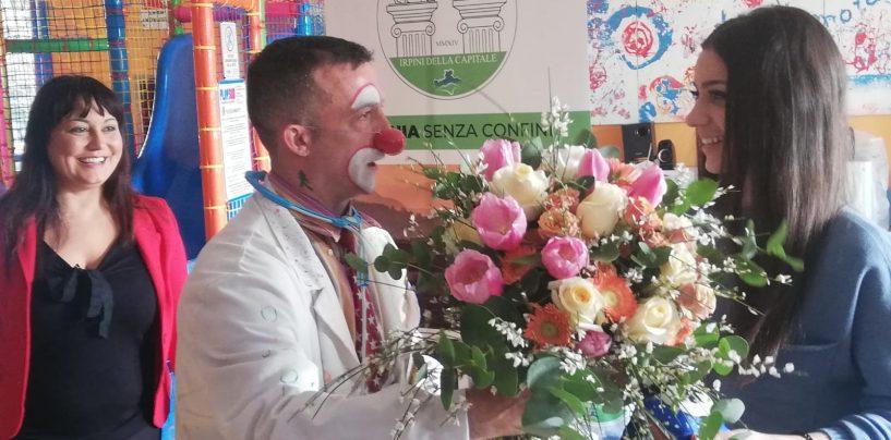 Anche il sorriso di Enrica Musto per i bambini ricoverati in ospedale