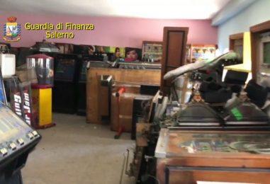Clonavano le slot machine: operazione della Guardia di Finanza fra Napoli e Salerno