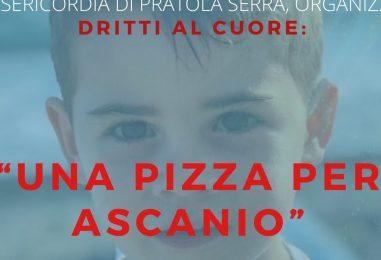 Il cuore d'Irpina batte per Ascanio, anche Pratola Serra si mobilita per una pizza di beneficenza