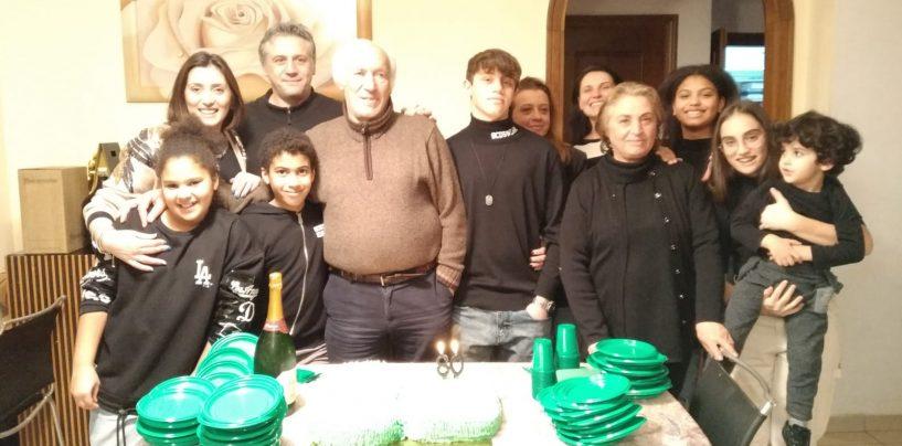Festa grande a Monteforte Irpino per gli 80 anni del professore Buglione