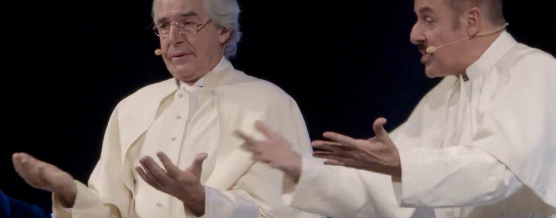 """Massimo Lopez e Tullio Solenghi tornano insieme sul palco. Sabato e domenica di scena al """"Gesualdo"""""""