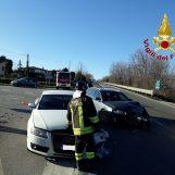 Incidente stradale a Pietradefusi: due feriti in ospedale
