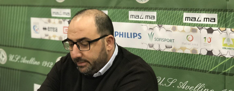 """Avellino, Circelli rilancia: """"Settimana delicata, al lavoro per il futuro"""""""