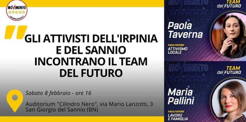 M5S, gli attivisti d'Irpinia e Sannio incontrano Maria Pallini e Paola Taverna