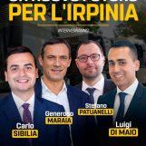 Generoso Maraia parteciperà all'assemblea pubblica ad Ariano Irpino il 28 Febbraio con Di Maio, Patuanelli e Sibilia