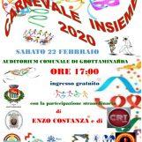 Carnevale Insieme, appuntamento all'Auditorium di Grottaminarda