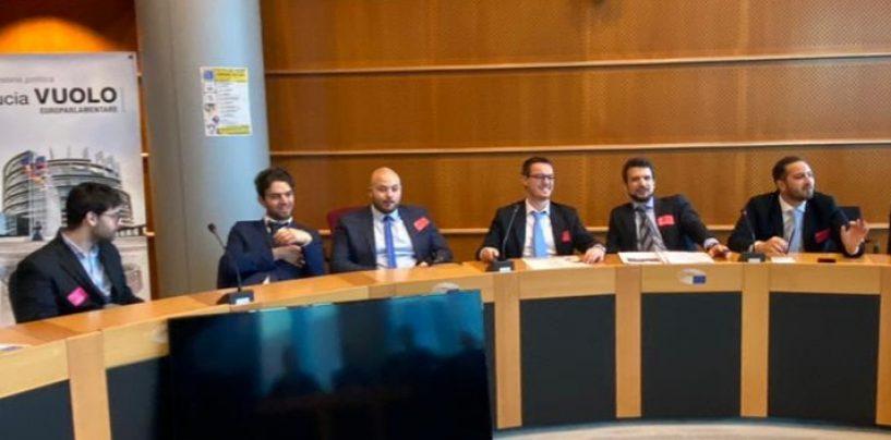 Avellino: la Lega giovani partecipa al meeting europeo a Bruxelles su fondi europei e autonomie