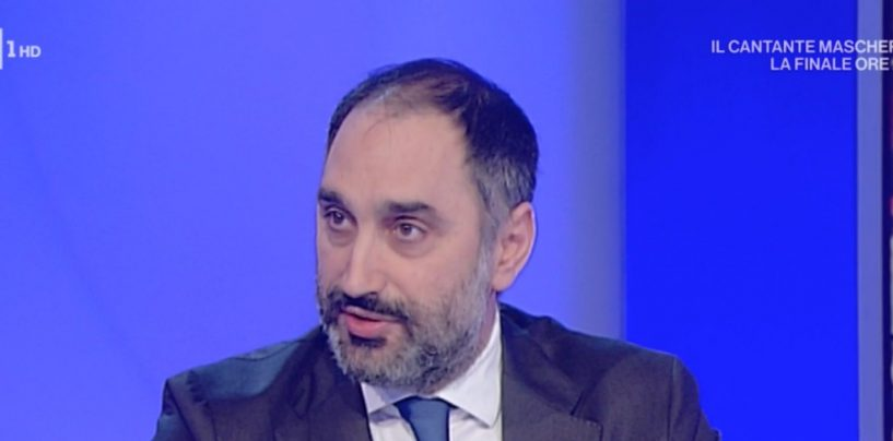 """Gubitosa a Uno Mattina: """"Ora giù le tasse per le aziende"""