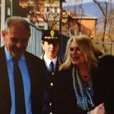 Il Prefetto Paola Spena in visita in Questura, ad accoglierla il Questore Maurizio Terrazzi