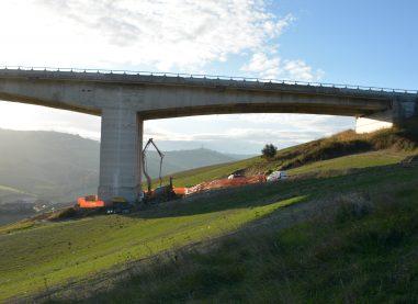 FOTOGALLERY/ Iniziati i lavori sulla Pila 1 del viadotto Cerrano