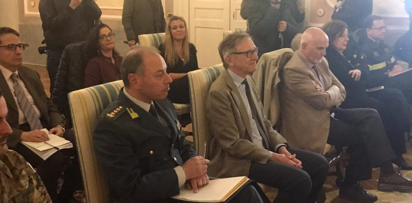 """Coronavirus, anche il Procuratore Cantelmo e il Presidente Beatrice al vertice in Prefettura: """"Udienze scaglionate in diversi orari"""""""