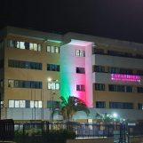 Carabinieri di Avellino, messaggio di speranza ai cittadini: comando provinciale illuminato dal tricolore