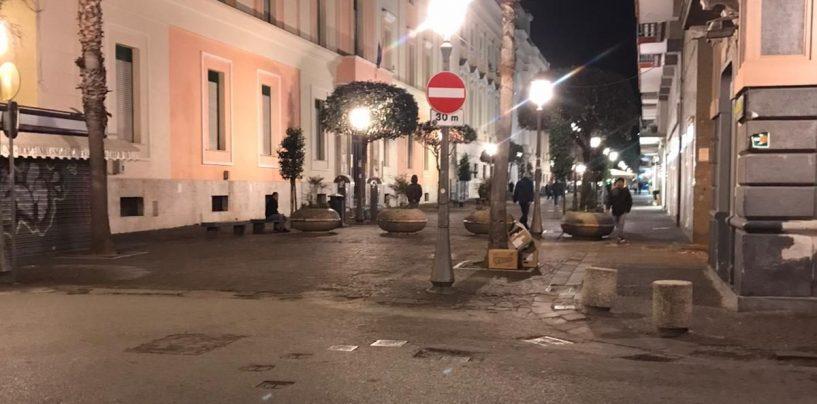 Serrata anti-Coronavirus: anche il Corso di Salerno chiude al commercio