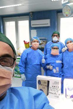 Ariano Irpino, ASD Over 35 dona due sanificatori all'ospedale Frangipane