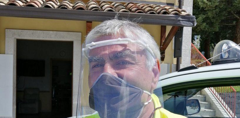 Visiere protettive contro il coronavirus, l'idea sull'asse Varese-Bisaccia