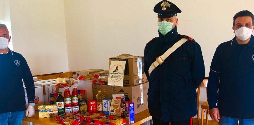 Andretta e la solidarietà, raccolta di generi alimentari e beni di prima necessità per le famiglie bisognose