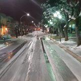 Ariano Irpino, autombulanza bloccata dalla neve: liberata dal personale Anas