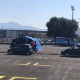 VIDEO/ Covid-19, via ad Avellino ai drive-in test a Campo Genova