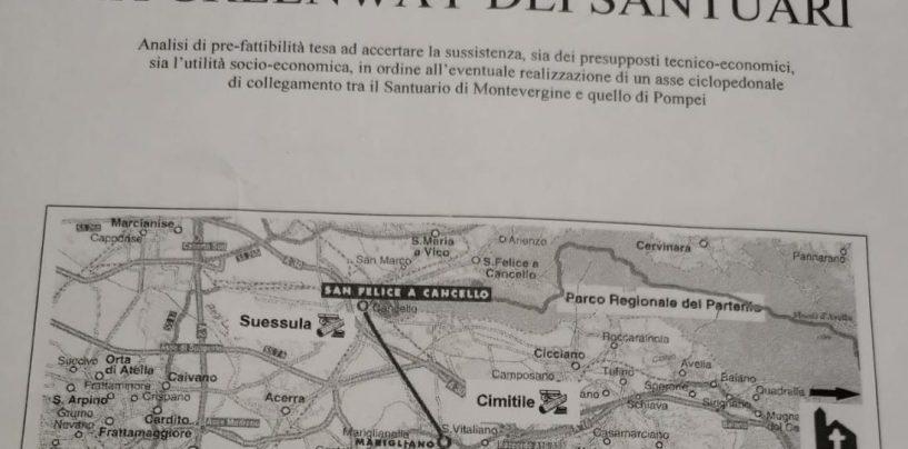 """Dalla """"Greenway dei Santuari"""" di Montevergine e Pompei alla riapertura del Maglificio """"100quindicipassi"""" di Quindici. Parco Partenio, i 15 punti per la """"Fase 2"""""""