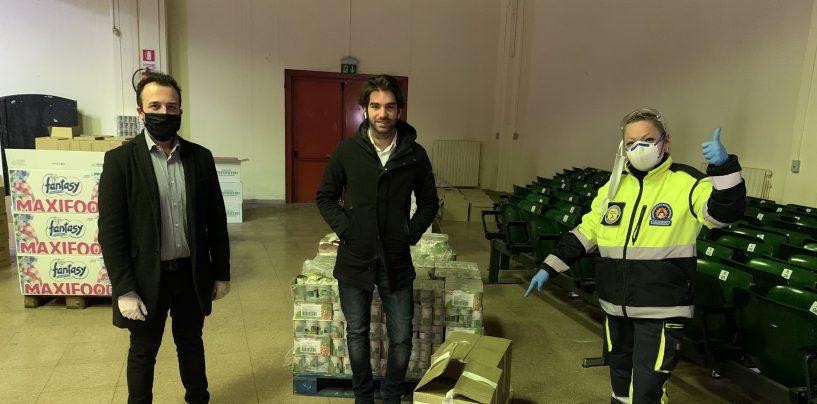 1.000 gel igienizzanti donati al Comune di Avellino da Natural Drops
