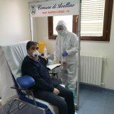 Avellino parte: il primo test rapido lo fa il presidente dell'Ordine dei Medici
