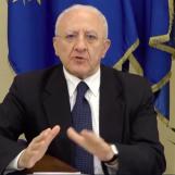 Verso le regionali – De Luca contro gli assembramenti: ridurre il numero di candidati della coalizione