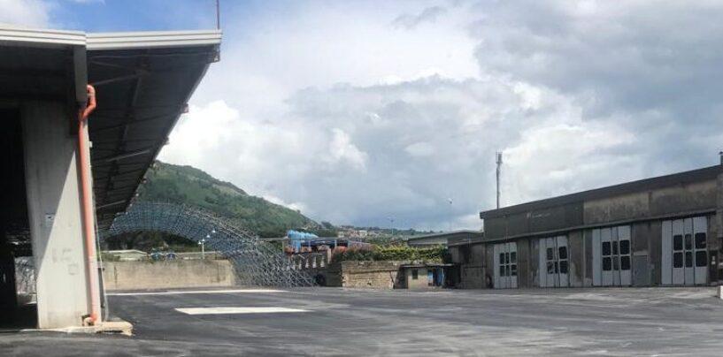 Air, in piena fase 2 ultimati i lavori di riqualificazione del deposito di Torrette