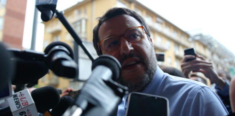 """Sorpresa a Mondragone, riecco Salvini: """"Qui al mattino quando quelli dei centri sociali dormono"""""""
