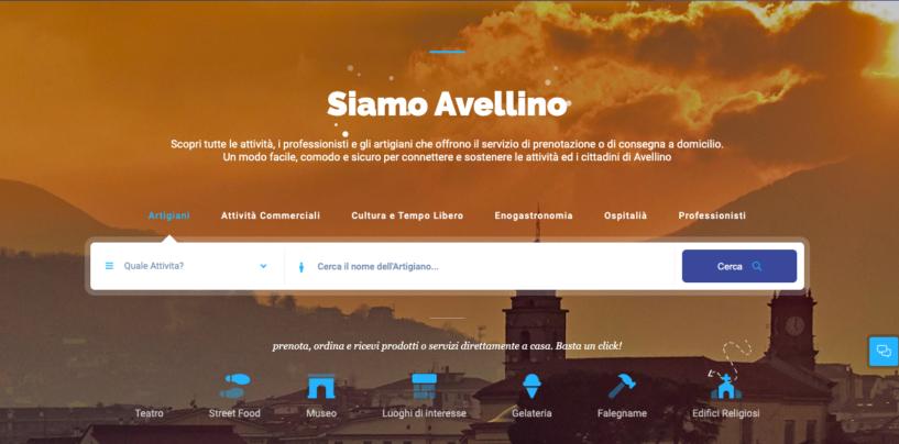 SiamoAvellino.it: una piazza digitale della città. Sindaco e vicesindaco presentano la piattaforma