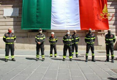 FOTO E VIDEO / Avellino, festa della Repubblica con i vigili del Fuoco