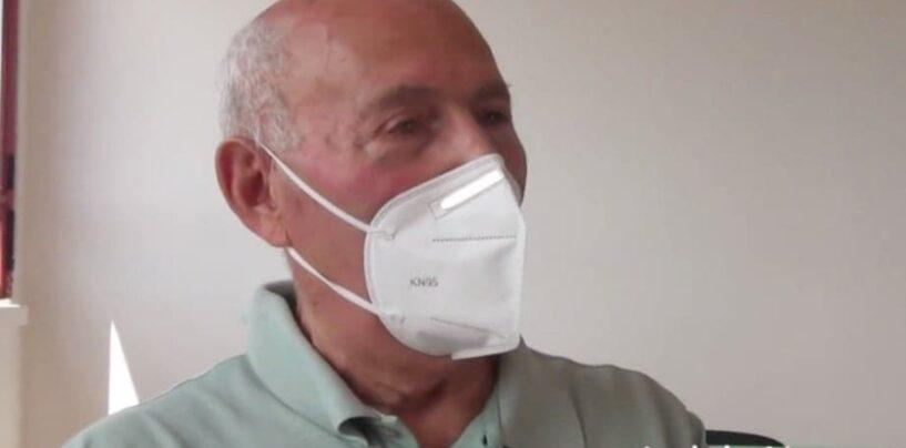 """VIDEO/""""A 81 anni ho preso il diploma di terza media"""". Vincenzo Conte di Conza della Campania realizza il suo sogno"""