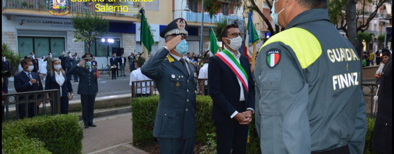 Guardia di Finanza, a Pontecagnano la cerimonia in ricordo del finanziere di mare Daniele Zoccola