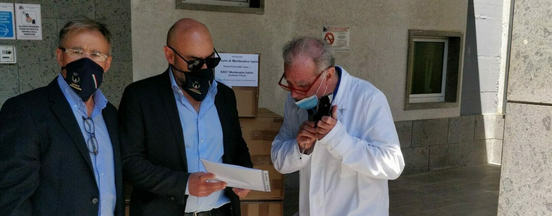"""FOTO / Dalla Svizzera ad Ariano passando per Montecalvo Irpino: presidi medici per il """"Frangipane"""""""