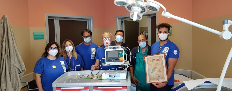 Pro Loco Roccabascerana, donazione al Pronto Soccorso del Moscati