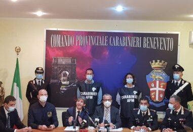 VIDEO/ Operazione Nerone a Benevento: tutti i dettagli