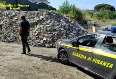 VIDEO/ Reati ambientali, sequestrate 150 tonnellate di rifiuti speciali a Ercolano