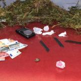 Un arresto e due denunce nell'hinterland avellinese. Sequestrati mezzo etto di Hashish e quasi un chilo di Marijuana
