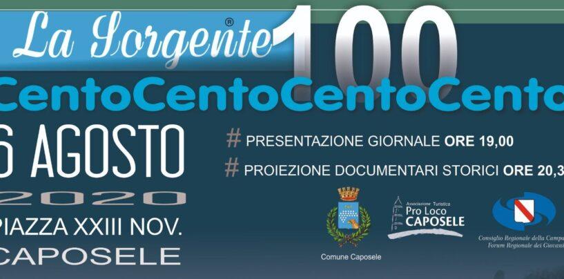 A Caposele la presentazione del numero 100 del periodico La Sorgente