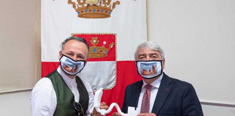"""Key of Montevergine"" dell'artista Milot sarà inaugurata dal presidente Biancardi ad ottobre"