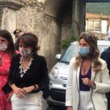 """Il ministro Bonetti a Palazzo Macchiarelli: """"Un progetto delle donne"""""""