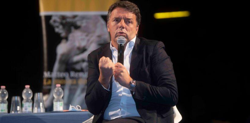 """FOTO / """"Il lavoro è la priorità per questo Paese, tutto il resto solo chiacchiere"""" """"Salvini è rimasto ai fantasmi del Papete"""". Da Avella ecco Matteo Renzi"""