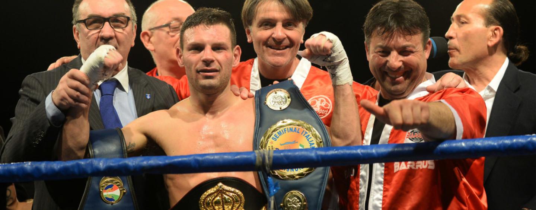La boxe irpina festeggia: cinture di benemerenza per Carmine Tommasone ed Agostino Cardamone