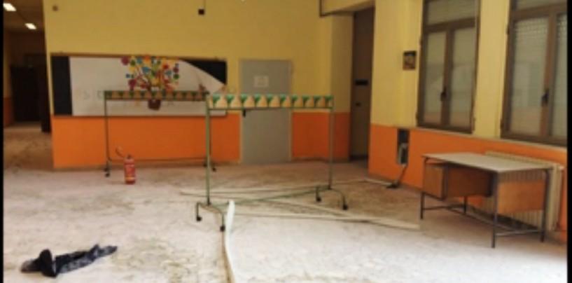 Pratola Serra, raid vandalico a scuola: denunciati 4 studenti