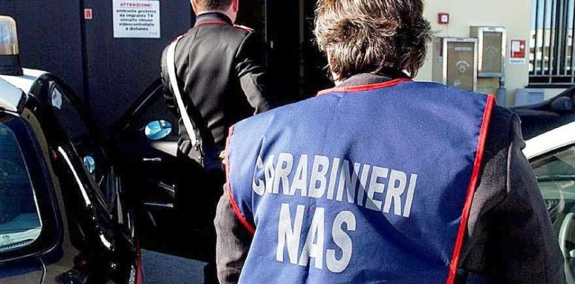 Doppio blitz dei NAS in Irpinia, sotto sequestro un supermercato ed un poliambulatorio
