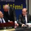 Regionali, De Luca incontra i forestali ad Avellino