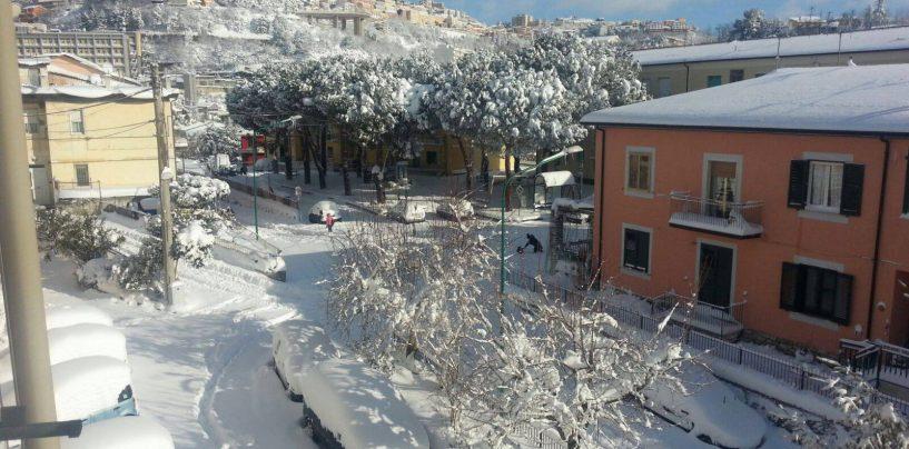 Emergenza neve, i provvedimenti ad Ariano Irpino