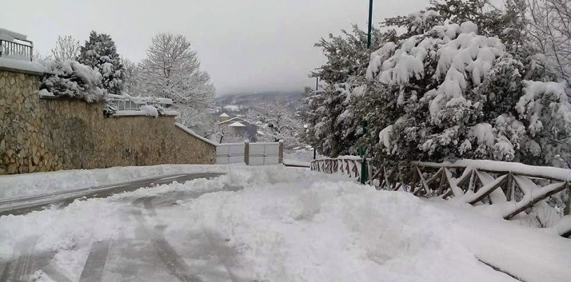 Neve in Irpinia, la nuova allerta della Protezione Civile per domani
